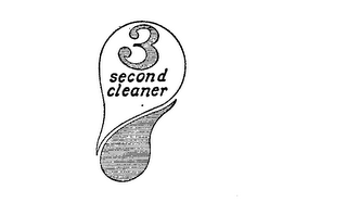 3 SECOND CLEANER