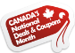 Canada's National Deals & Coupons Month