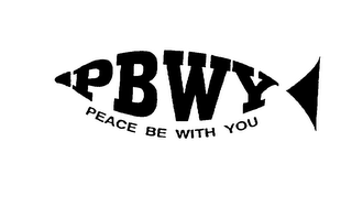 PBWY PEACE BE WITH YOU