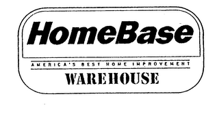 HOMEBASE AMERICA'S BEST HOME IMPROVEMENT WAREHOUSE