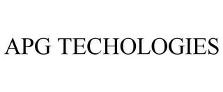 APG TECHOLOGIES (trademark)