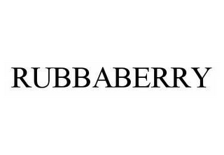 RUBBABERRY