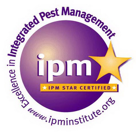 IPM IPM STAR CERTIFIED EXCELLENCE IN INTEGRATED PEST MANAGEMENT WWW.IMMINSTITUTE.ORG