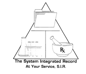 THE SYSTEM INTEGRATED RECORD AT YOUR SERVICE, S.I.R.