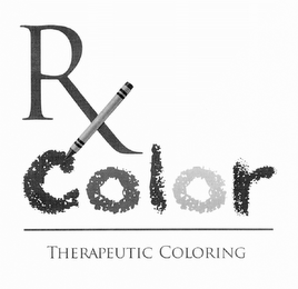 RX COLOR THERAPEUTIC COLORING