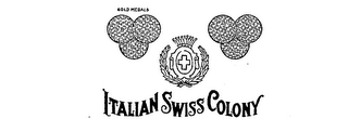 ITALIAN SWISS COLONY GOLD MEDALS