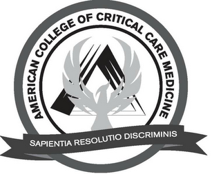 AMERICAN COLLEGE OF CRITICAL CARE MEDICINE SAPIENTIA RESOLUTIO DISCRIMINIS