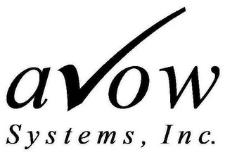 AVOW SYSTEMS, INC.
