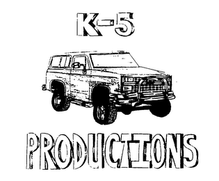 K-5 PRODUCTIONS