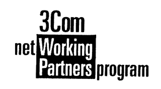 3COM NET WORKING PARTNERS PROGRAM