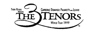 THE 3 TENORS CARRERAS DOMINGO PAVAROTTI WORLD TOUR 1999