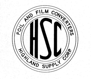 HSC HIGHLAND SUPPLY CORP. FOIL AND FILMCONVERTERS