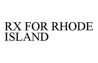 RX FOR RHODE ISLAND